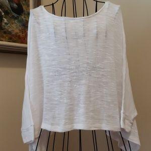 Beyond Yoga Dolman Sweater Oversized in WHITE